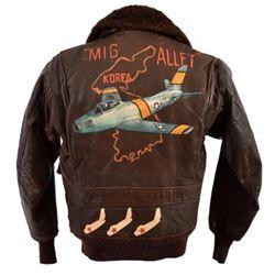 Korean War USN/USAF G-1 Flying Jacket Mig Alley