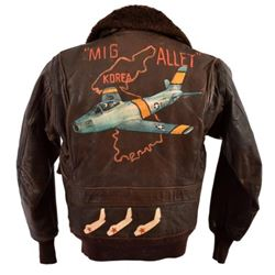 Korean War USN/USAF G-1 Flying Jacket Mig Alley
