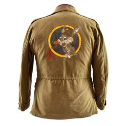 WWII Captain Bob Salyer Glider Pilot Jacket