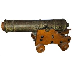 Bronze Cannon Found in Galveston Bay
