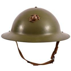 USMC Model 1917 Helmet & Liner