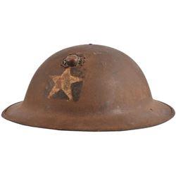 USMC Model 1917 2nd Division Helmet