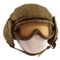 WWII USAAF M4A2 Flak Helmet