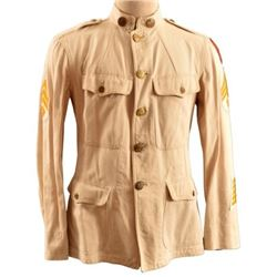U.S. Army 26th Cavalry F Co. White Mess Dress