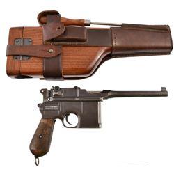 WWI German Naval Broomhandle Mauser Pistol