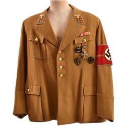 WWII Nazi German Gauleiter Officer Uniform Tunic