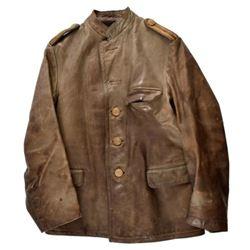 WWII Nazi Kriegsmarine U-Boat Leather Jacket