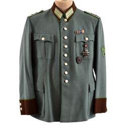 WWII Nazi Polizei Dress Tunic & Trousers