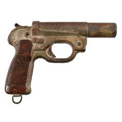 German WWII Leuchtpistole 42 Signal Flare Pistol