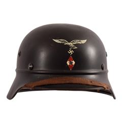 WWII Nazi German Hitler Youth-Luftwaffe Helmet