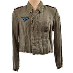 WWII Nazi German Hitler Youth Flak Helper Tunic