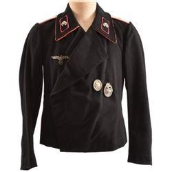 WWII Nazi SS Black Dress Tunic & Trousers