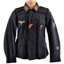 WWII Nazi Corporal Radio Operator Luftwaffe Tunic