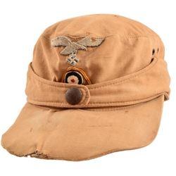 Nazi German WWII Luftwaffe Tropical Field Cap