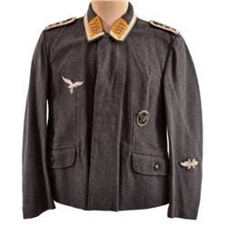WWII Nazi German Luftwaffe NCO Short Tunic