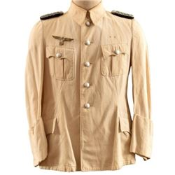 WWII Nazi German Officers White Tunic
