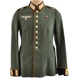 WWII Nazi German Wermacht Tunic