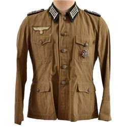 WWII Nazi German Medical Corps Field Tunic Major