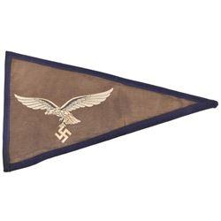 WWII Nazi German Luftwaffe Penant Flag