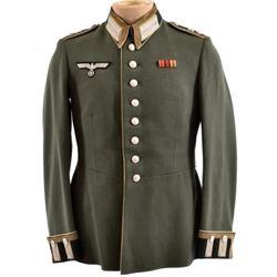 WWII Nazi German Green Wermacht Tunic