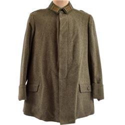 WWII Nazi German Long Wool Overcoat