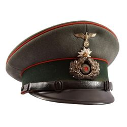 WWII Nazi German Visor Cap