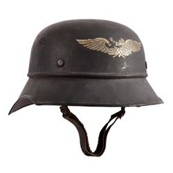 WWII Nazi German M1934 Luftschutz Helmet