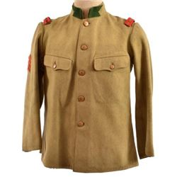 WWII Imperial Japanese Sgt. Maj. Dress Tunic