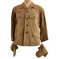 WWII Imperial Japanese Tunic, Pants, & Mitts