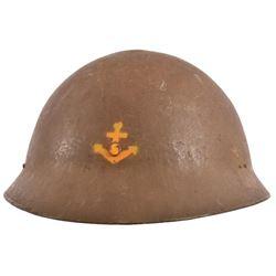 WWII Japanese Special Naval Landing Force Helmet