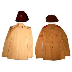 2 Philippines Constabulary Fez Hats