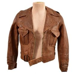 WWII Chinese Leather Pilots Jacket