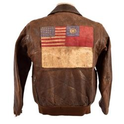 WWII USAAF Leather A-2 Flying Jacket China