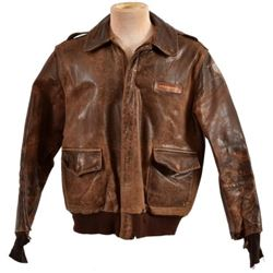 WWII U.S. Army Leather A-2 Flying Jacket