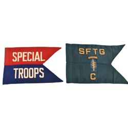 Army Airborne & Special Troops Guidon Flags