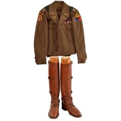 WWII US Army Captain Clint Hearn's Cavalry Uniform