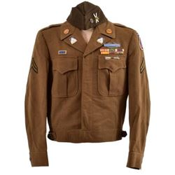 """WWII U.S. Army 10th Mountain Division """"Ike"""" Jacket"""