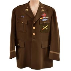 WWII U.S. Army Full Colonel Tunic 82nd Airborne