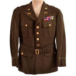 WWII U.S. Army WWII Tunic Field Artillery Major