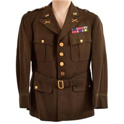 WWII U.S. Army WWII Tunic Field Artillery Major