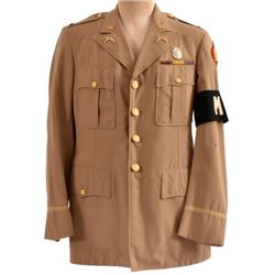 WWII U.S. Army Tunic 1st Lt. 45th Division MP