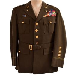 WWII U.S. Army Tunic Gen. Eisenhower Staff Officer