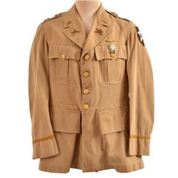 WWII U.S. Army Captain 2nd Infantry Division Tunic