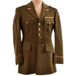 U.S. Army Armored Infantry Captain Uniform 1930s