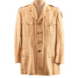WWII U.S. Army 2nd Lt. White Mess Dress Tunic