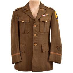 WWII U.S. Army Captain 2nd Cavalry Tunic