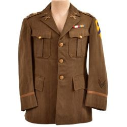 WWII U.S. Army Captain 2nd Cavalry Tunic