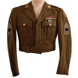 WWII US Tank Destroyer Master Sgt. Ike Jacket