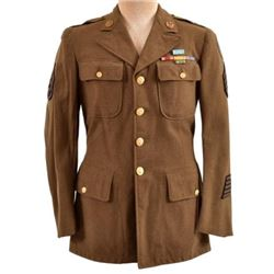 WWII U.S. Army Frank Peregory Medal Of Honor Tunic