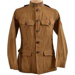 WWI U.S. Army 90th Div. Signal Corps Uniform